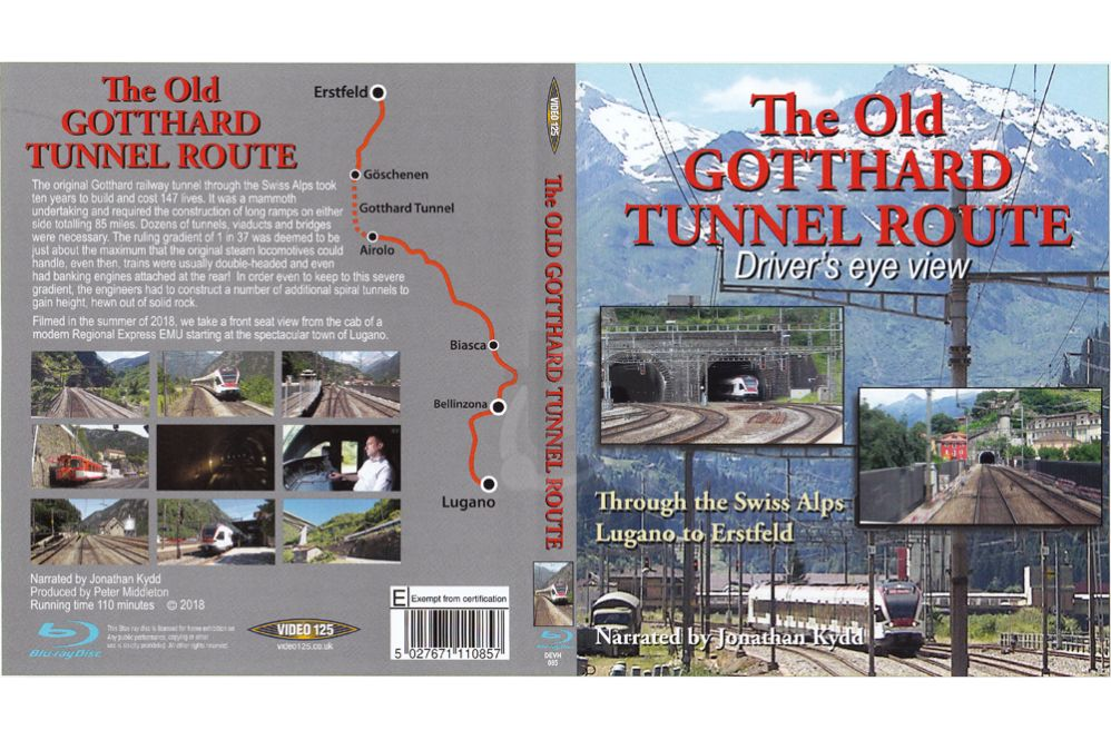 The Old Gotthard Tunnel Route BLU-RAY
