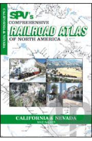 Comprehensive Railroad Atlas - California and Nevada