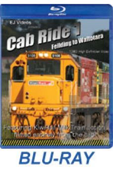 Cab Ride 1 - Feilding to Waitotara BLU-RAY