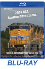 2014 USA Railfan Adventures BLU-RAY
