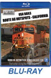 USA Rails - Route 66 Hotspots - California BLU-RAY