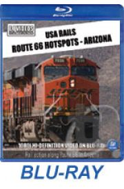 USA Rails - Route 66 Hotspots - Arizona BLU-RAY