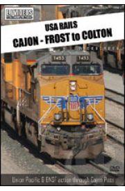 USA Rails - Cajon - Frost to Colton