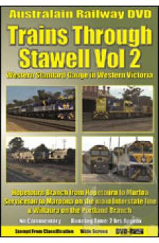 Trains Through Stawell - Volume 2