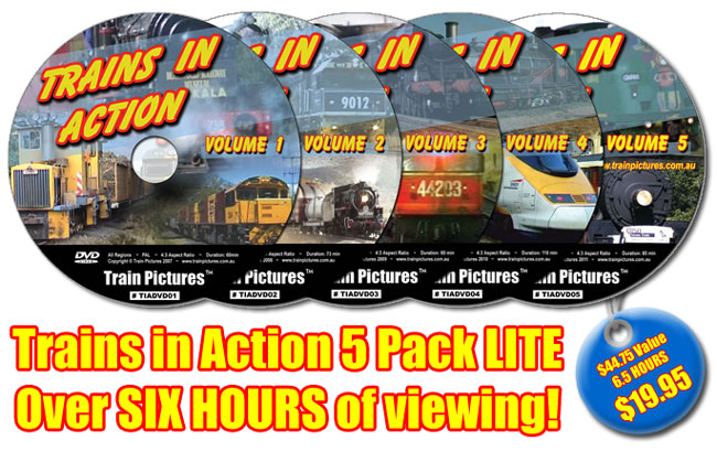 Train in Action 5 Pack